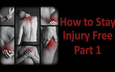 How to stay injury free – Part 1