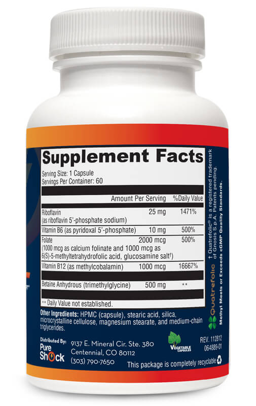 Methyl - Supplement Facts