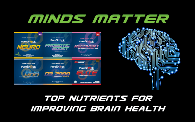 Top Nutrients for Improving Brain Health