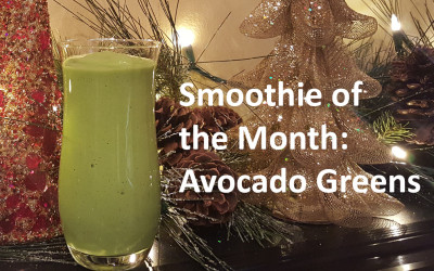 Smoothie of the Month: Avocado Greens